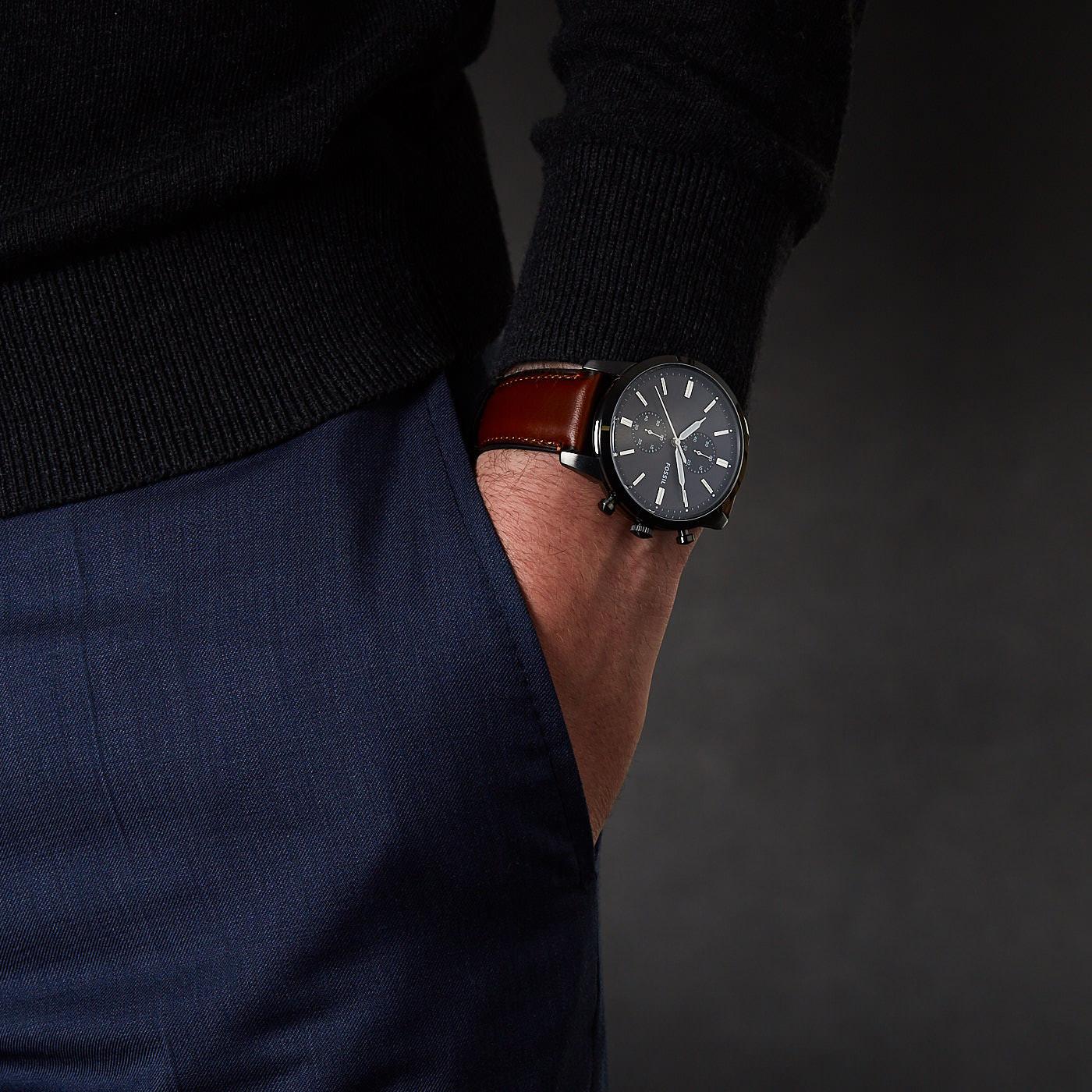 Fossil Townsman horloges FS5522