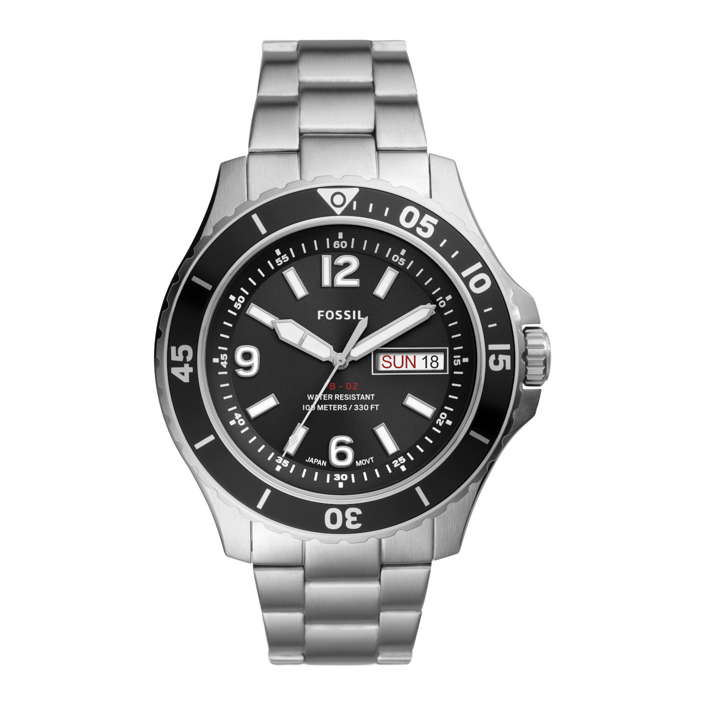 Fossil FB-02 horloge FS5687
