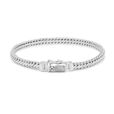 Buddha to Buddha 925 Sterling Zilveren Heritage Ben Mini Armband J101 (Lengte: 17.00-21.00 cm)