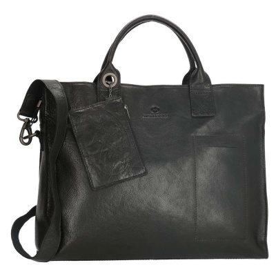 Micmacbags Golden Gate Black Laptoptas 17353001