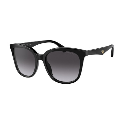 Emporio Armani Black Zonnebril EA415750178G55