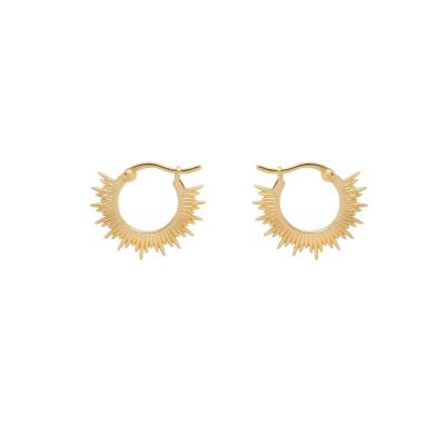 ANNA + NINA 925 Sterling Zilveren Rising Sun Ring Oorbellen 21-1M902021GP