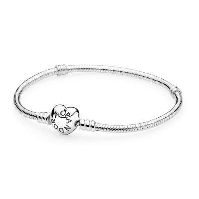 Pandora Zilveren Armband Met Clipsluiting 590719