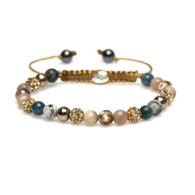 Karma Spiral Yvet armbånd 83298 (Længde: 17.50-19.00 cm)