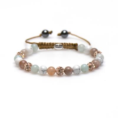 Karma Spiral Made Mint Armband 83416 (Lengte: 17.50-19.00 cm)