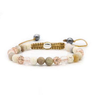 Karma Spiral Rosegarden Armband 83601 (Lengte: 17.50-19.00 cm)cm