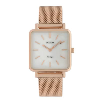 OOZOO Vintage Rosegoudkleurig horloge C9846 (29 mm)