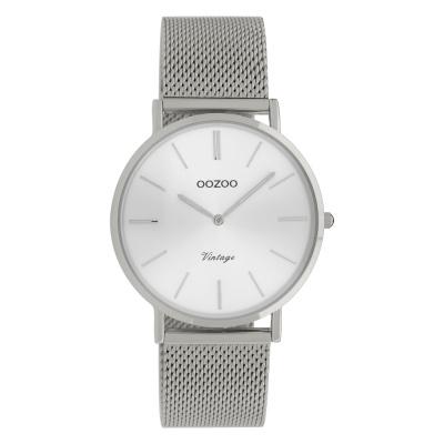 OOZOO Vintage Zilverkleurig horloge C9906 (36 mm)