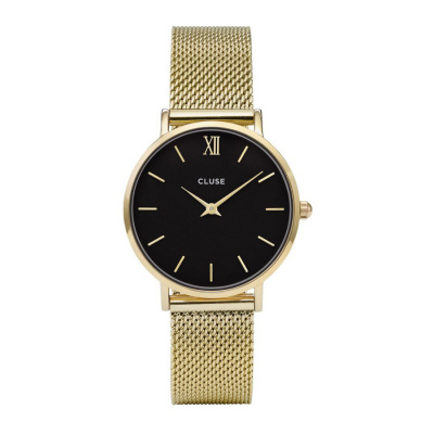CLUSE Minuit Goudkleurig Horloge CW0101203017