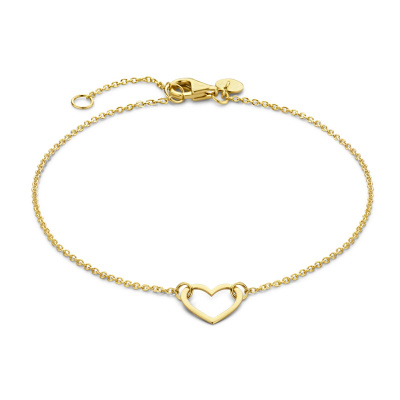 Isabel Bernard Belleville Amore 14 Karaat Gouden Armband IB320046