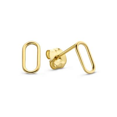 Isabel Bernard Le Marais Jaimie 14 karaat gouden oorstekers IB360048