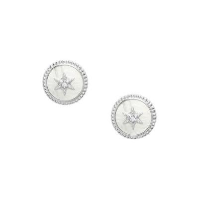 Fossil Sterling Silver ørering JFS00500040