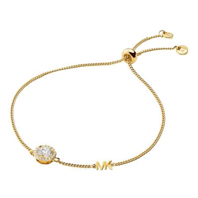 Michael Kors Premium 925 Sterling Zilver Gouden Armband MKC1206AN710 (Lengte : 22.00 cm)