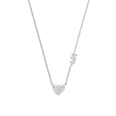 Michael Kors Premium 925 Sterling Zilveren Ketting MKC1459AN040 (Lengte: 40.60 - 45.70 cm)