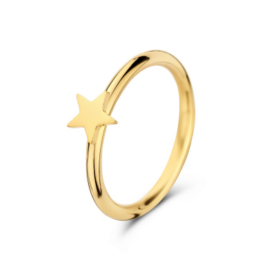 May Sparkle Happiness Star Goudkleurige Ring MS10084
