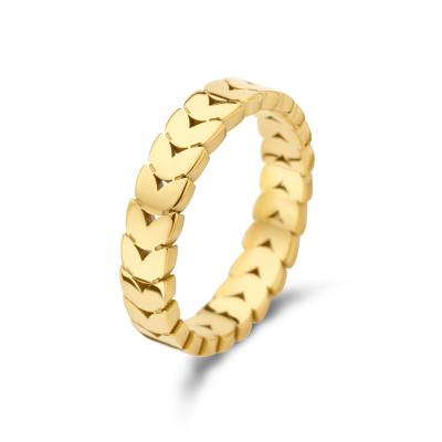 May Sparkle Summer Breeze Nadine Goudkleurige Ring MS330008
