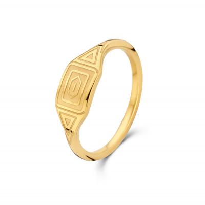May Sparkle Summer Breeze Liv Goudkleurige Ring MS330012