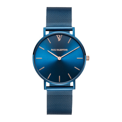 Paul Valentine Blue horloge PV364131