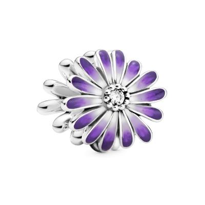 Pandora Garden 925 Sterling Zilveren Purple Daisy Bedel 798775C02