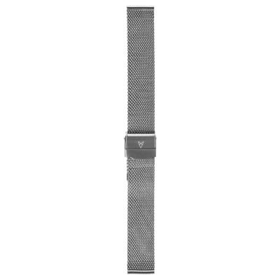 Renard Elite 35.5 Strap 18mm Zilverkleurig R18M2SS3