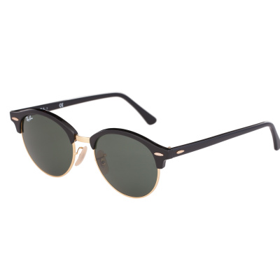 Ray-Ban Clubmaster Round zonnebril Black RB4246 901