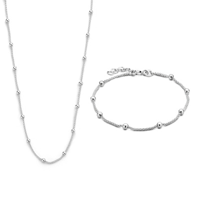 Selected Jewels Lily halskæde SJSET1021137