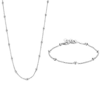Selected Jewels Lily halskæde SJSET1330083