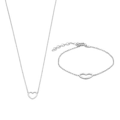 Selected Jewels Lily halskæde SJSET1330084