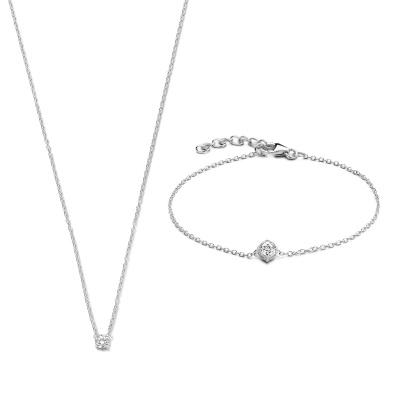 Selected Jewels Lily halskæde SJSET1330085