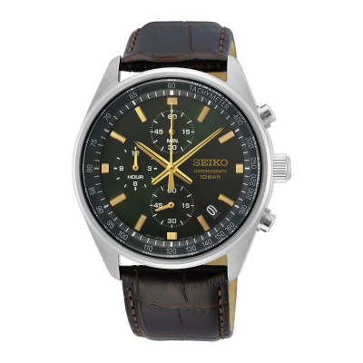 Seiko Chrono horloge SSB385P1