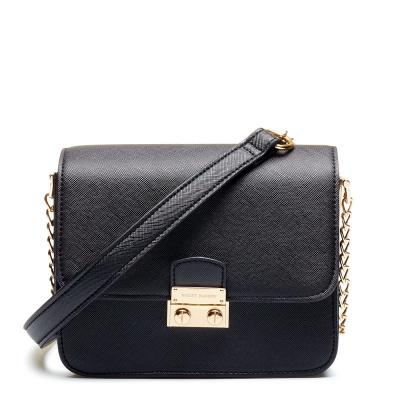 Violet Hamden Essential Bag Midnight Black Mini Crossbody VH30001